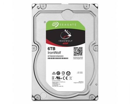 SEAGATE 6TB 3.5 SATA III 256MB ST6000VN0033 IronWolf Guardian