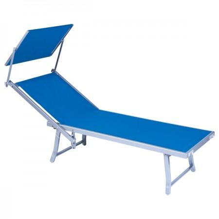 Alu. lezaljka za plazu bali - teget/plava ( 041243 )