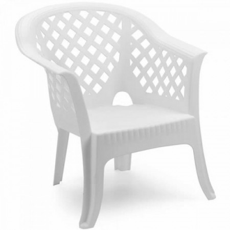 Bastenska bela  fotelja - lario ( 037985 )