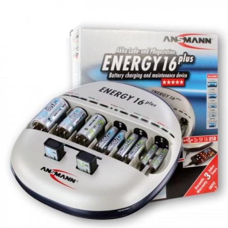 Ansmann NiMH / NiCd punjač baterija Energy 16 plus ( 1065 )
