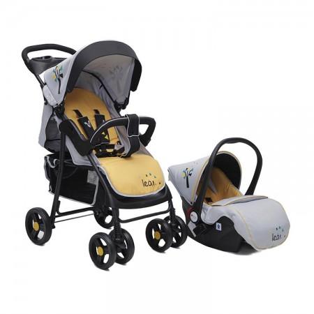 Canagroo kolica Lea 2u1 yellow set sa autosedištem ( CAN3631YS )