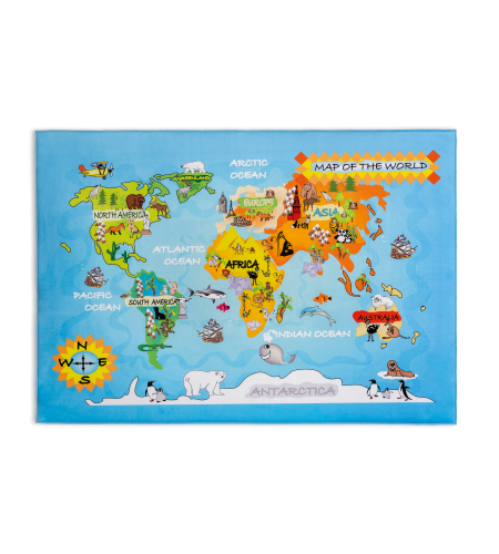 Cilek Soft gravity world tepih 100x150cm ( 21.07.7696.00 )