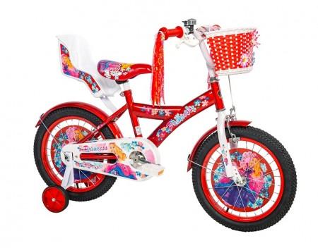 Dečiji Bicikl Princess 16 crvena/bela ( 460121 )