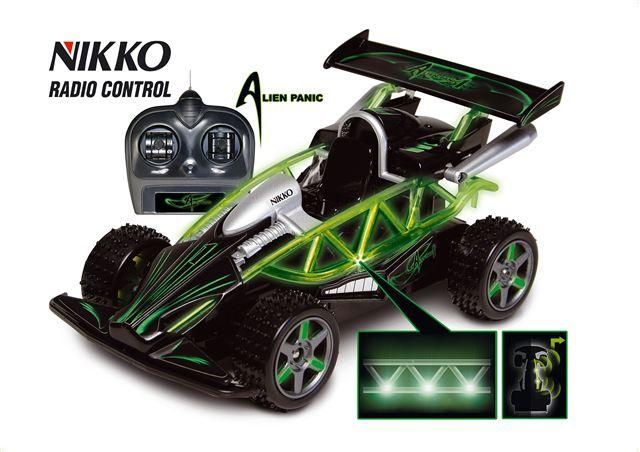 Auto na daljinsko upravljanje Alien Panic - Igračka