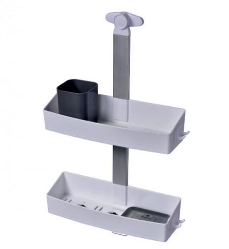 Pelikan Set za tuširanje - plastičan (ravni), belo-antracit sivo ( 70210 )
