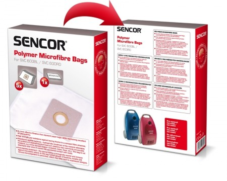Sencor SVC 600 trajna kesa za usisivač