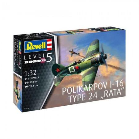 Revell polikarpov i-16 type 24 rata ( RV03914/220 )