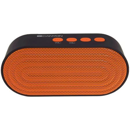 Canyon CNE-CBTSP3BO portable bluetooth speaker Black and Orange ( CNE-CBTSP3BO )