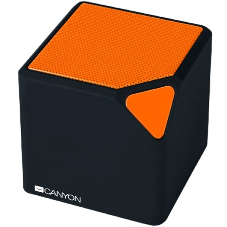 Canyon CNE-CBTSP2BO portable bluetooth speaker Black and Orange ( CNE-CBTSP2BO )