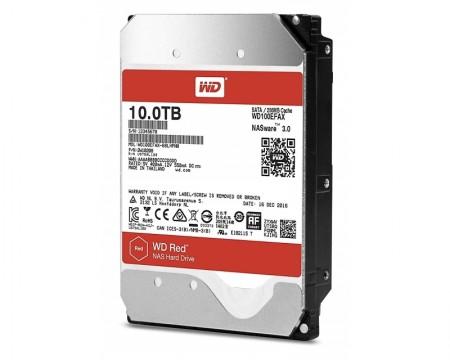WD 10TB 3.5 SATA III 256MB 5.400rpm WD100EFAX RED