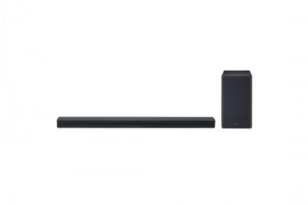 LG SK8 soundbar 2.1, 360W, WiFi Subwoofer, Bluetooth, Dolby Atmos, Chromecast, Black