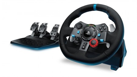 Logitech G29 Driving Force Racing Wheel PC/PS4/PS3 ( 941-000112 )