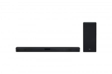 LG SL5Y soundbar 2.1, 400W, WiFi Subwoofer, Bluetooth, DTS Virtual X, Black