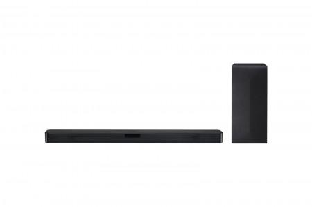 LG SL4Y soundbar 2.1, 300W, WiFi Subwoofer, Bluetooth, Black