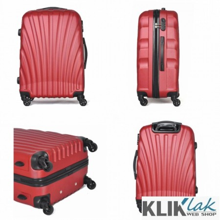 Kofer 24' ABS crveni ( 96-532000 )