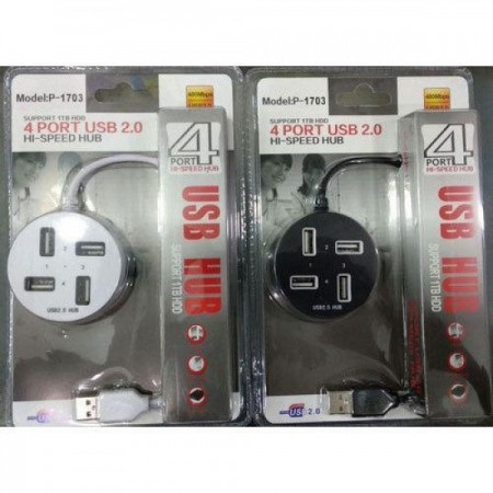 Hub sa 4 USB porta beli-crni ( HUBW4/Z )