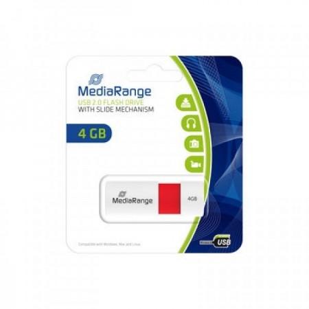 Mediarange MR970 4GB USB2.0 flash memorija color edition red ( UFMR970/Z )