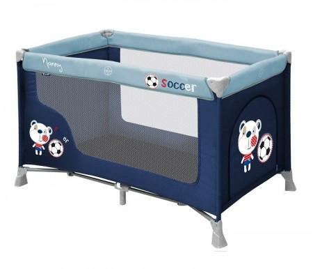 Lorelli Bertoni Krevet torba nanny 1 nivo blue soccer 2015 ( 10080181528 )
