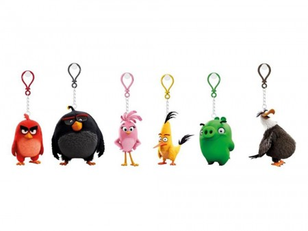 Angry birds angry birds 3d figure with p.k ( AB60131 )