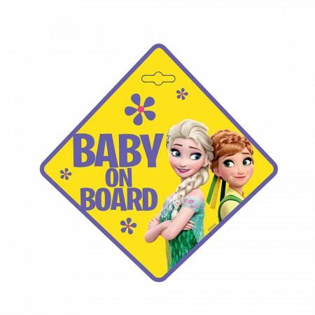 Eurasia nalepnica za automobil beba u autu frozen ( AL9611 )