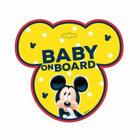 Eurasia nalepnica za automobil beba u autu mickey ( AL9612 )