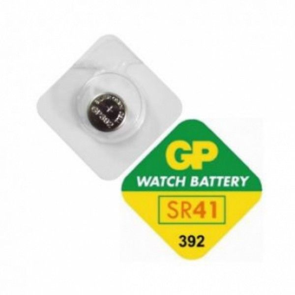 GP baterije 1.55V/V392/7.9x3.6mm ( SR41W )