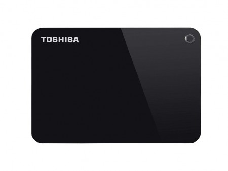 Toshiba HDD 1TB 2.5 USB 3.0 Canvio Advance Black eksterni ( HDTC910EK3AA )