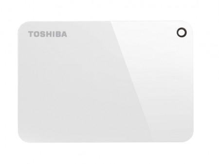 Toshiba HDD 2TB 2.5 USB 3.0 Canvio Advance White eksterni ( HDTC920EW3AA )