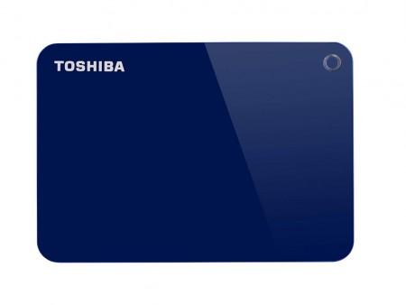 Toshiba HDD 2TB 2.5 USB 3.0 Canvio Advance Blue eksterni ( HDTC920EL3AA )