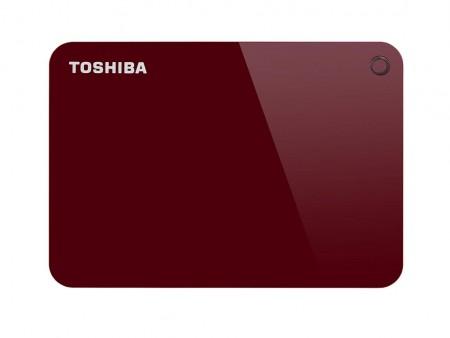 Toshiba HDD 1TB 2.5 USB 3.0 Canvio Advance Red eksterni ( HDTC910ER3AA )