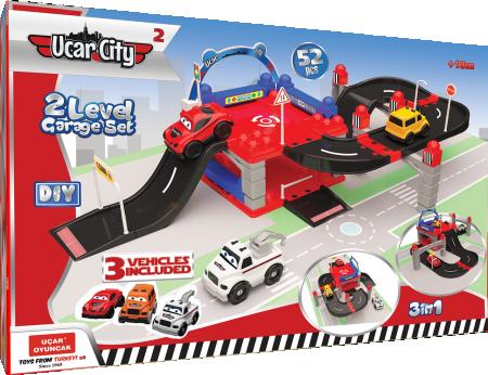 Ucar city 2 garaža 52kom igračka ( UT201 )