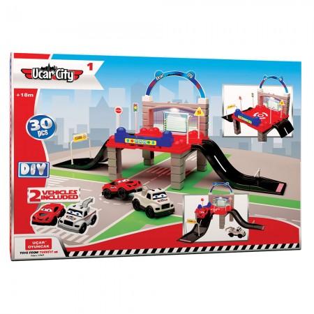 Ucar city 1 garaža 30kom igračka ( UT202 )