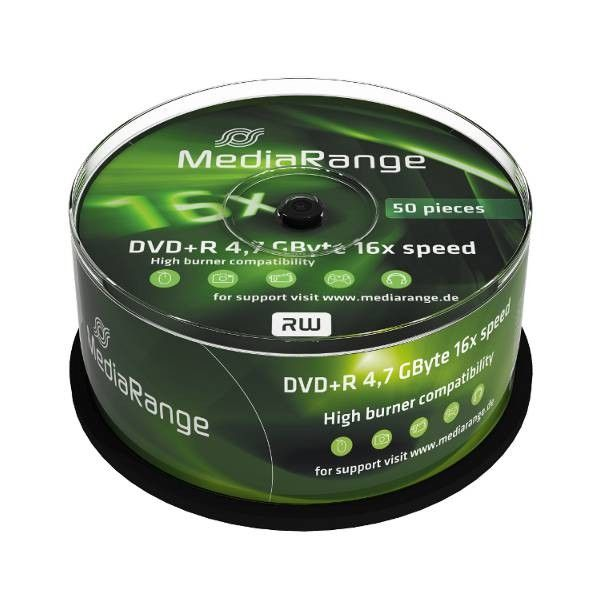 MediaRange MR445 DVD+R 4.7GB 16X blank ( 556M5+/Z )