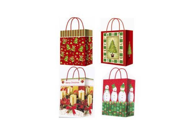 Božićna ukrasna kesica 18.4x10.2 ( 36-690000 )