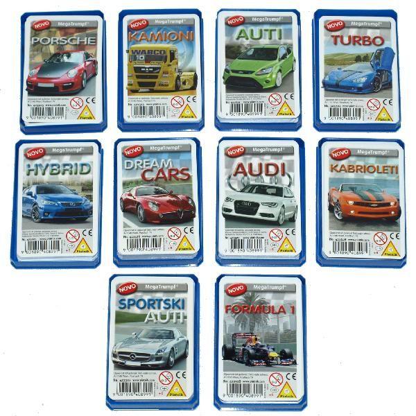 Karte Automobili ( 07-421500 )