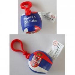 Privezak lopta Srbija ( 09-904000 )