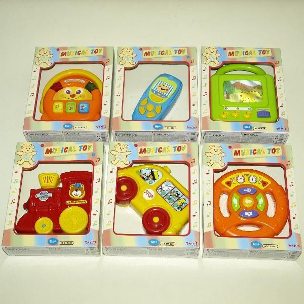 Muzičke igračke 6 vrsta ( 43-310000 )