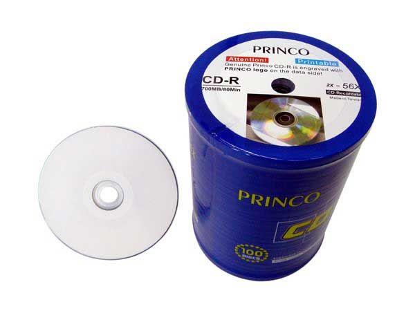 Princo CD-R WIDE FACE printabilni 56X 700MB ( 78PP/Z )