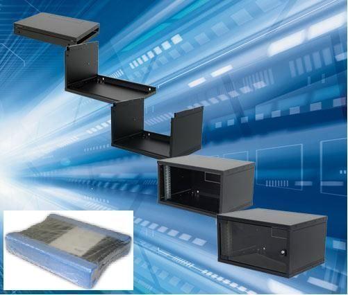 Triton RXA-06-AS4-BAX-A1 LAN Orman zidni 6U/400mm Flatpack Crni