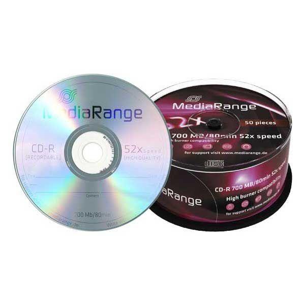 MediaRange MR207 CD-R 700MB 52X LOGO ( 777/Z )
