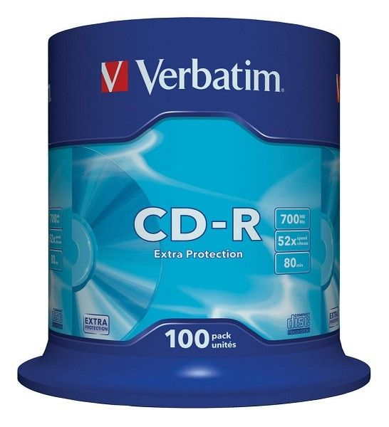 Verbatim 43411 CD-R 700MB 52X ( 741/Z )