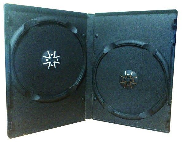 MediaRange BOX12 Kutija za 2 DVD Diska Crna 14MM ( 955D/Z )