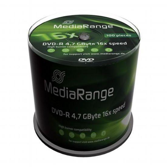 MediaRange DVD-R 4.7GB 16X MR442 ( 556M/Z )