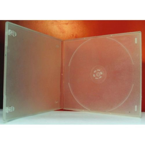 NN Bela providna slim kutija za 1 CD/DVD debljine 5.2mm ( 95NP/Z )