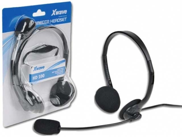 XWave HD-100 slusalice sa mikrofonom