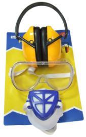Womax naočare zaštitne maska i antifon ( 0106201 )