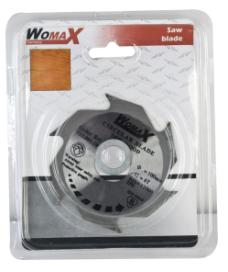 Womax list testere fi 100mm x 25.4mm x 2.6mm 6T ( 73300110 )