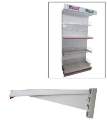 Polica za prodavnice konzolni nosač 650mm ( 70140206 )