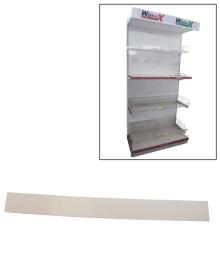 Polica za prodavnice puna leđa 1200mm x 250mm ( 70140207f )