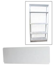 Polica univerzalna - polica dno/krov 1200mm x 450mm ( 70001107 )